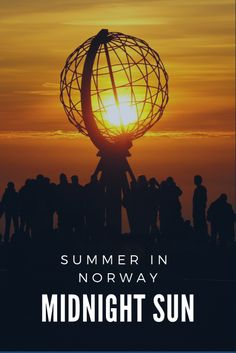 If you visit northern Norway in June or July youll see the midnight sun See The Northern Lights, Norway Travel, Midnight Sun, In The Heights, Beautiful Pictures, Places To Visit, June, Nature, Summer
