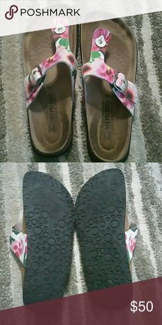 Mephisto sandals Genuine Leather, comfortable,  worn,  good condition Mephisto Shoes Sandals