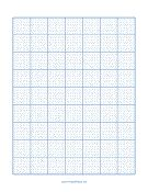 printable blank cross-stitch grid