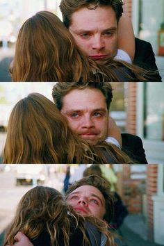 I cried. I cried so hard, I love him, I can't help it he's Bucky and the emotions and ugh.