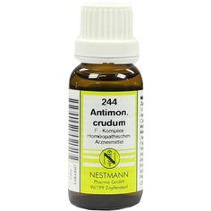 ANTIMONIUM CRUDUM F Komplex Nr.244 Dilution:   Packungsinhalt: 20 ml Dilution PZN: 04484897 Hersteller: NESTMANN Pharma GmbH Preis: 3,84…