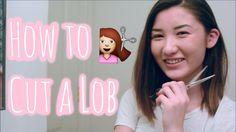 How to Cut a Lob {Long Bob} Yourself