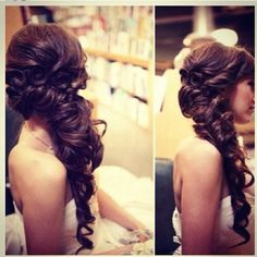 if my hair is this long on my wedding day......