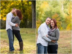 Fall Engagement Session in Tyringham, MA - Tricia McCormack Photography