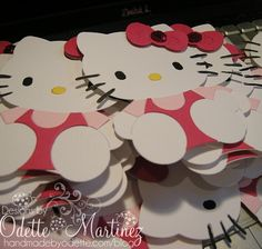 Hello Kitty Paper Cut-outs