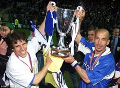 Image result for chelsea cup winners cup 1997