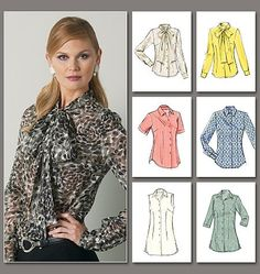 Vogue Patterns 8772 Misses Blouse sewing pattern