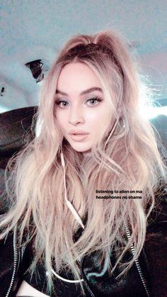 Sabrina's instagram Story