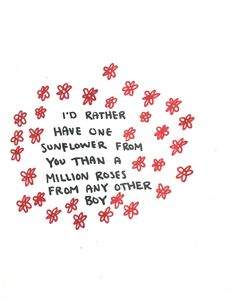 partially because I love sunflowers, but I would love a wildflower honestly x