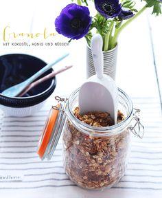 Granola - Mit Kokosöl, Honig und Nüssen