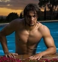 This was pinned by Sylvia Day...this is who she sees as Gideon...nom, nom