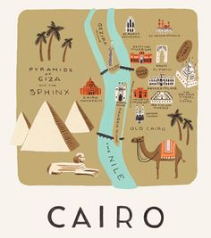 Cairo Print - riffle paper co