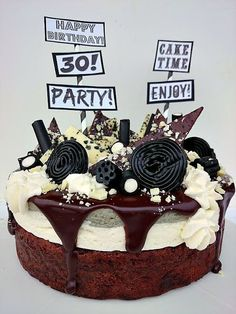 Baking of. Happy Birthday, Birthday Cake, Cheesecake, Sweet, Party, Desserts, Food, Kitchen, Healthy