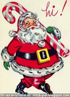 How sweet... vintage Christmas card  ♥