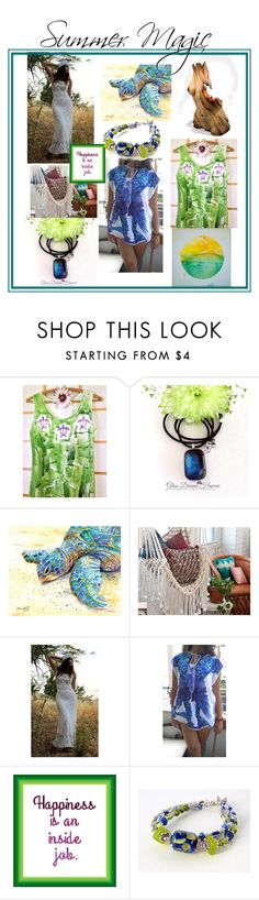 """""""Looking Forward to Summer Magic"""" by strong-gallery on Polyvore"""