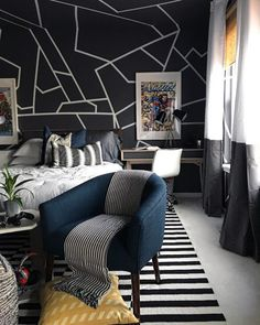 Home Decoration Ideas From Waste Modern Teen Boy Bedroom.Home Decoration Ideas From Waste Modern Teen Boy Bedroom Boys Bedroom Decor, Teen Room Decor, Childrens Room Decor, Girl Bedrooms, Boys Bedroom Wallpaper, Boys Bedroom Furniture, Bedroom Sets, Modern Boys Rooms, Modern Kids Bedroom