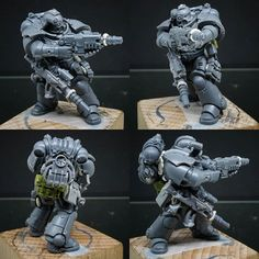 Early concept of one of two commissions I am working on.theme is spec-ops Astartes. Warhammer 40k Space Wolves, Warhammer 40k Figures, Warhammer Paint, Warhammer Models, Warhammer 40k Miniatures, Warhammer 40000, Space Marine Dreadnought, Game Workshop, Fantasy Miniatures