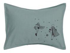 Linen cushion by Livette la Suissette, £30