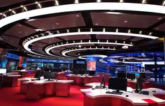 With Glittering New Set Design, CCTV News Takes Aim At The World | Co.Design | business + design