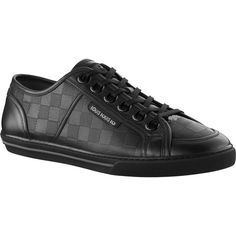 0a9b49d7e31 Save Louis Vuitton Outlet Online US Store with Free Ship   No Tax!    Damier-embossed calf leather   Extra-large lacquered eyelets   Louis Vuitton  signature ...