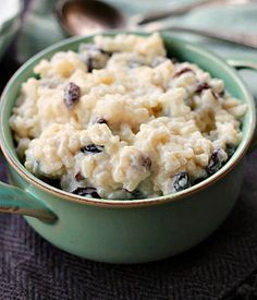 Old Fashioned Rice Pudding – – hausgemacht Rice Pudding Ingredients, Rice Pudding Recipes, Rice Pudding Recipe With Raisins, Long Grain Rice Pudding Recipe, Rice Recipes, Old Fashioned Rice Pudding, Homemade Chocolate Pudding, Homemade Rice Pudding, Low Carb Brasil