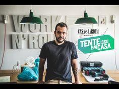 TENTE ISSO EM CASA: APRENDA A FAZER UMA LUMINÁRIA DE TETO COM CANO DE PVC - YouTube