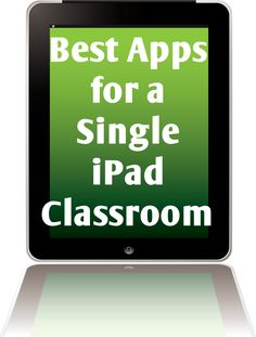 Best apps for a single iPad classroom!
