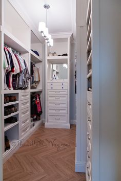 Master Closet Remodel - Built-ins, Drawers, Wood Tile #DIY