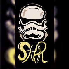 Storm Trooper Snapchat Art