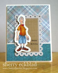 Golden Oldies > Bud (Sku#I1246) Art Impressions ... birthday card.