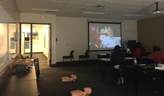 We are hanging out with our friends over at Brown Mackie College today. This is going to be a fun BLS class! - http://ift.tt/1HQJd81
