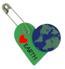 Earth Day Swap  Link takes you to makingfriends.com, where you could buy kits, if they were in stock. The Earth disk is actually a brad- it may be available at craft stores.