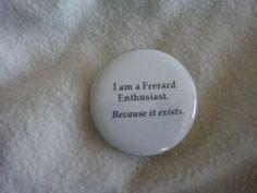 FRERARD enthusiast button by NinjaKunstlerin on Etsy