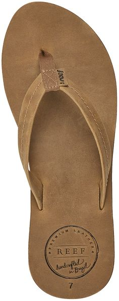 Reef Female Chill Leather Flip-Flops - Women's