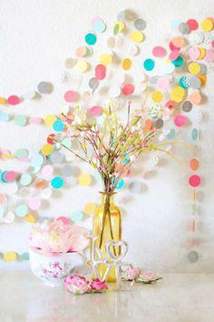 Colorful garland   Tumblr