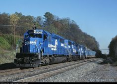 RailPictures.Net Photo: CR 6365 Conrail EMD SD40-2 at Radebaugh, Pennsylvania by Jack D. Kuiphoff