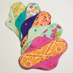 Cloth Menstrual Pads - Wonder if these work... Yes, they do. (this still kind of freaks me out)