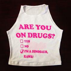Best shirt ever!!! RAWR! Get it now on www.ElectroThreads.com