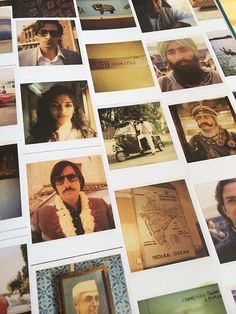 Wes Anderson Polaroids