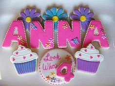 Sugar Cookies - Personalized Birthday