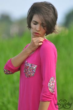 SoBoho Chic Sequined Long Sleeve Shirt Tunic by SwanNoirBoutique on Etsy, $80.00