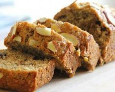 9 Gluten-Free Recipes for Patients with Gluten Intolerance and Celiac Patients - Bread Recipes Almond Banana Bread, Sugar Free Banana Bread, Baked Banana, Banana Bread Recipes, Cake Recipes, Dessert Recipes, Banana Oats, Banana Pudding, Gluten Free Cakes