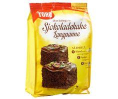 TORO Sjokoladekake Langpanne 771g - Våre produkter - Toro
