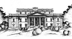 Quaid-e-Azam Library, Lahore. Pen and ink sketch drawn with a rapido. By: Zehra Naqavi (Architect/artist) Year: 1997 House Colouring Pages, Indus Valley Civilization, Building Sketch, National Art, Realism Art, Buy Art, Paper Art, Saatchi Art, Original Art