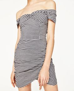 Image 5 of GINGHAM CHECK DRESS from Zara