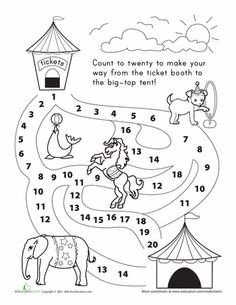 Circus Fun Pack | Math journal prompts, Skip counting and Alliteration