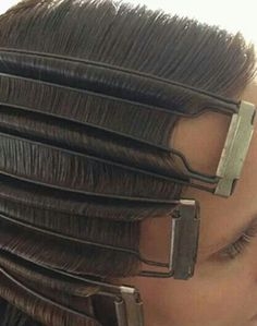 Vintage Clamp: 10 Finger Wave Tips for Flappers - Curly Hair Styles, Natural Hair Styles, Retro Hairstyles, Wedding Hairstyles, Flapper Hairstyles, Great Gatsby Hairstyles, Vintage Hairstyles For Long Hair, Vintage Hairstyles Tutorial, School Hairstyles