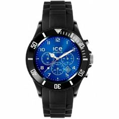 Ice-Watch - Blue Chronograph Collection - IB.CH.BBE.B.S  RRP: £150.00 Online price: £142.50 You Save: £7.50 (5%)  www.lingraywatches.co.uk