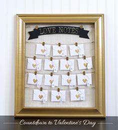 valentine's day countdown banner