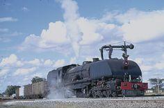 Steam loco Zimbabwe South African Railways, Steam Engine, Steam Locomotive, Heavy Metal, Childhood Memories, Birth, Transportation, Engineering, Around The Worlds